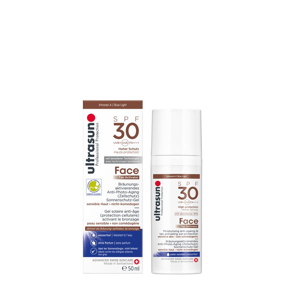 Face Tan Activator SPF30