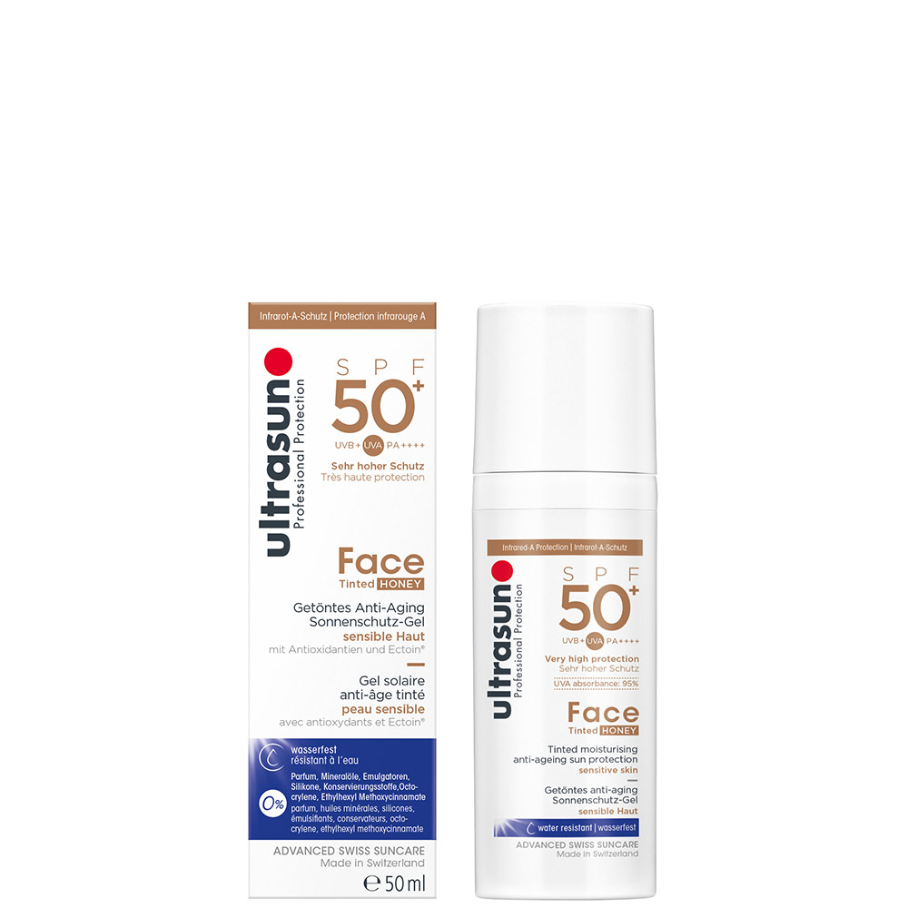 Anti-Age SPF50+ Tinted HONEY
